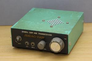 15m QRP AM トランシーバー(JR8DAG-15AM)