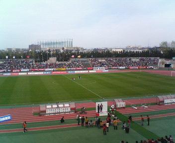 J2-14 札幌 1-0 <br />  仙台 試合終了