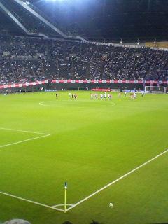 キリンチャレンジカップサッカー日本 1-3 ウルグアイ @札幌ドーム