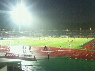 J1-23 札幌 3-3 G<br />  大阪 試合終了
