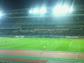 J2-35 横浜C 1-0 <br />  札幌 @日産スタジアム