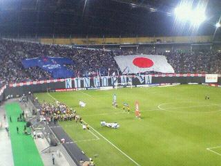 国際親善試合 日本 3-0 韓国 @札幌ドーム