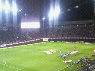 キリンチャレンジカップ2012 サッカー日本代表 1-1  ベネズエラ代表 @札幌ドーム