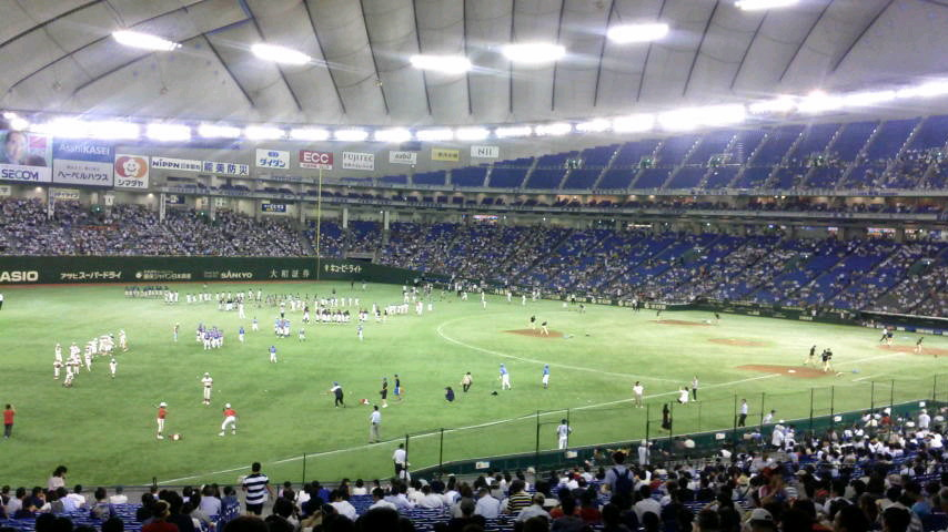 20150821 パ・リーグF 5-4 Bs @東京ドーム