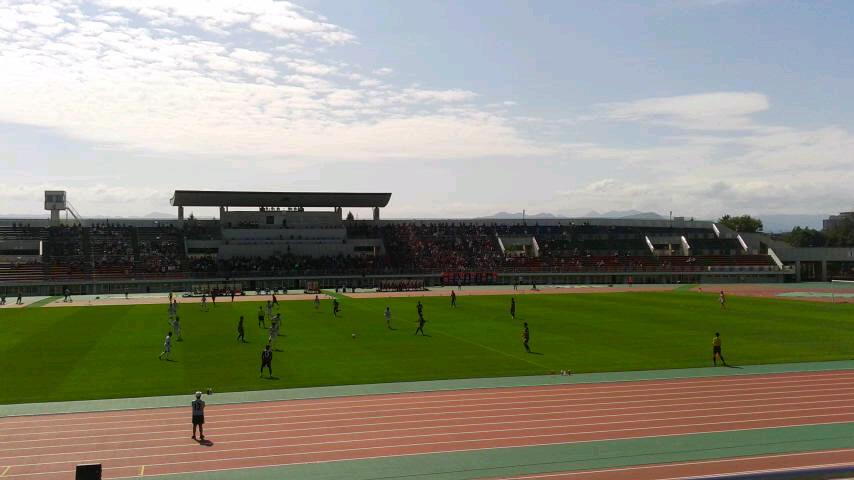 天皇杯1回戦 札幌 5-1 札幌大学 @札幌厚別