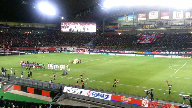 J2-40 札幌 1-0 徳島 @札幌ドーム