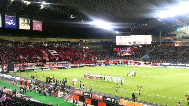J2-10 札幌 1-0 徳島 @札幌ドーム
