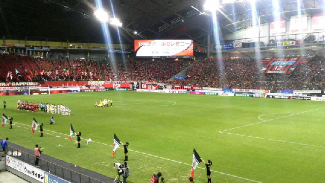 J1-6 札幌 3-0 名古屋 @札幌ドーム