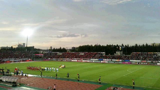 J1-17 札幌 0-0 磐田 @札幌厚別